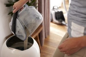 tegen stofreservoir stofzuiger zonder zak