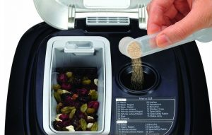 automatische dispenser voor rozijnen en noten