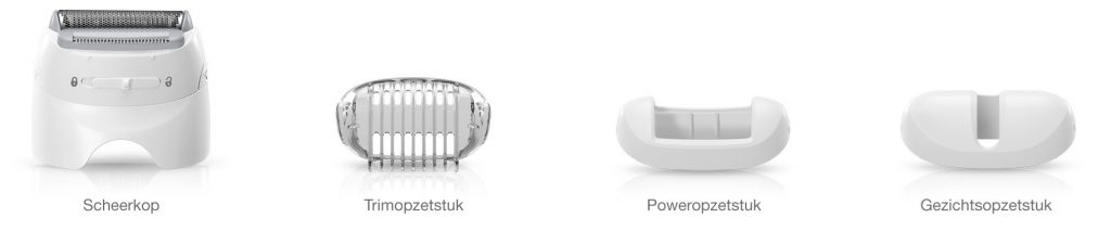 accessoires en opzetstukken epilator braun silk epil