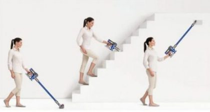 Je kunt met een steelstofzuiger makkelijk je huis stofzuigen. Vloer en trappen stofzuigen zonder dat je last hebt van een snoer!