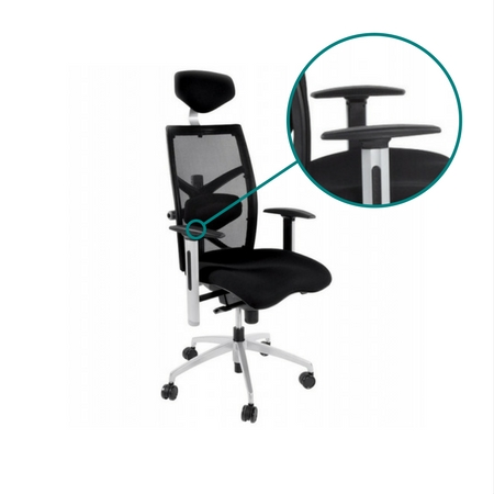 armleuning bureaustoel