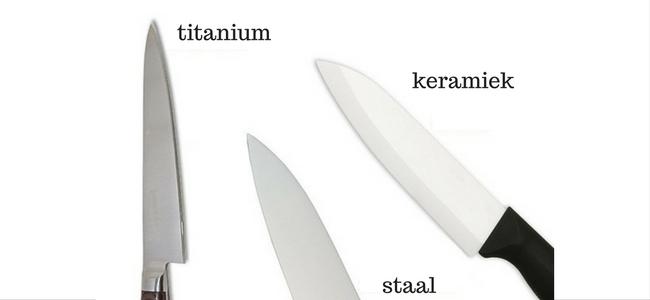 welke materiaal mes
