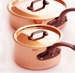 koperen koekenpan